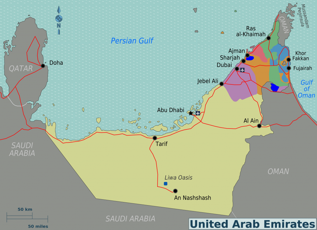 United Arab Emirates (U.A.E), The Safest and Beautiful Countries in ...
