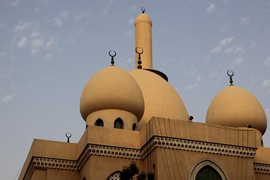 Domes of Old Districts of Dubai Al Fahidi