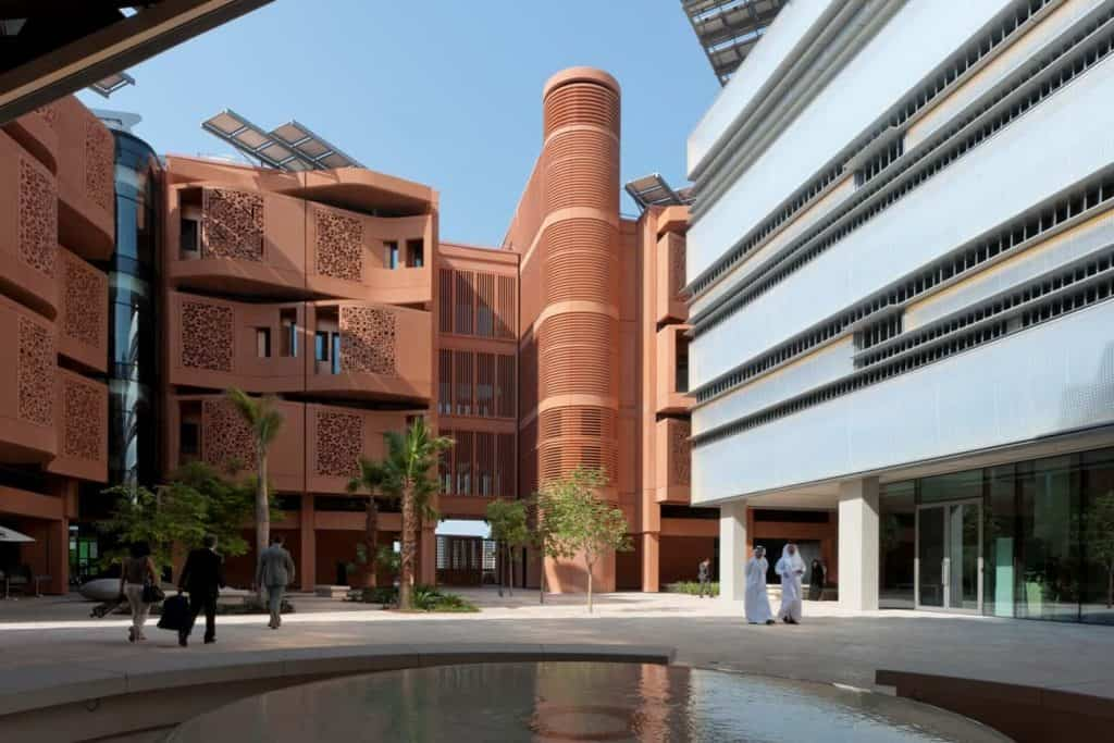The Masdar City Interior