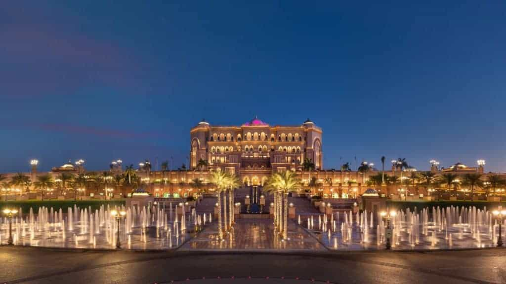 Grand View of the Emirates Palace
