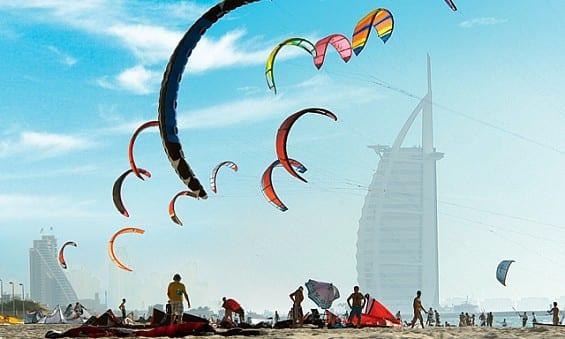Kite Beach of Dubai