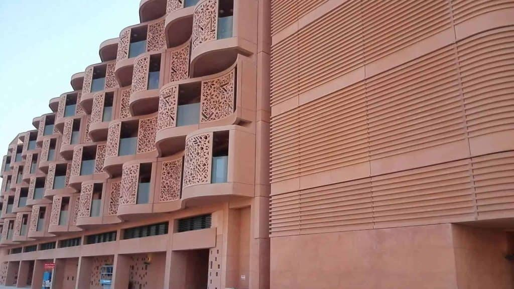 The Masdar City Wall Sculpture