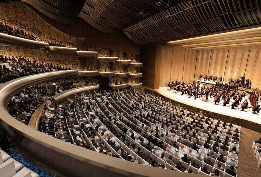 Performances at the Grand Dubai Opera