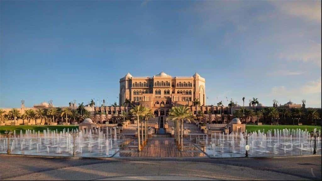 The Emirates Palace Entrance