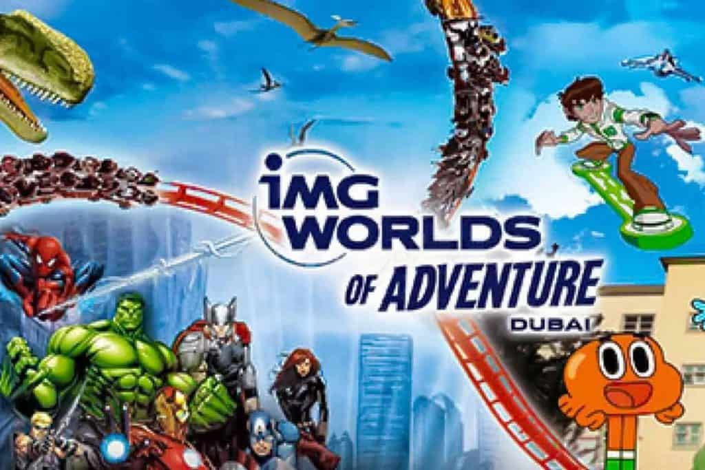 Kid's Enjoyment at the IMG World of Adventure