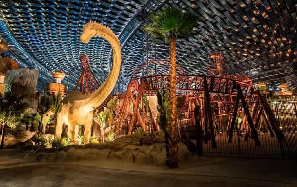 Dinosaur at the IMG World of Adventure