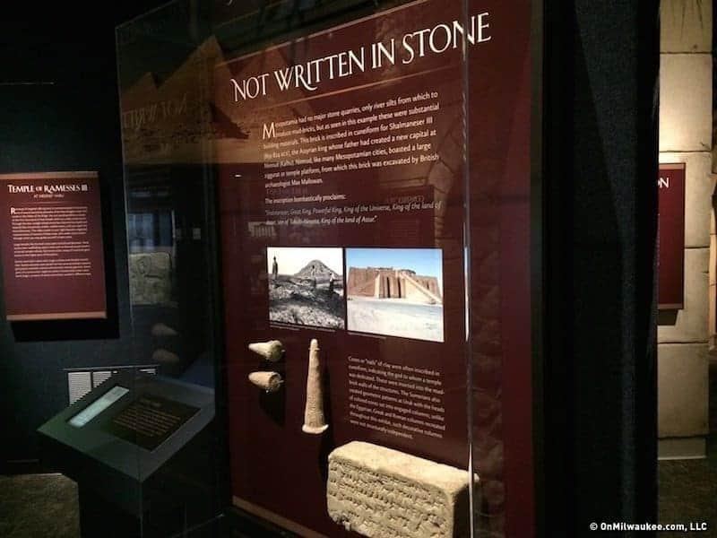 Crossroad of Civilizations Museum Pillar