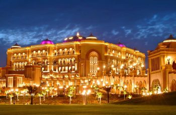 The Celestial Emirates Palace in Abu Dhabi