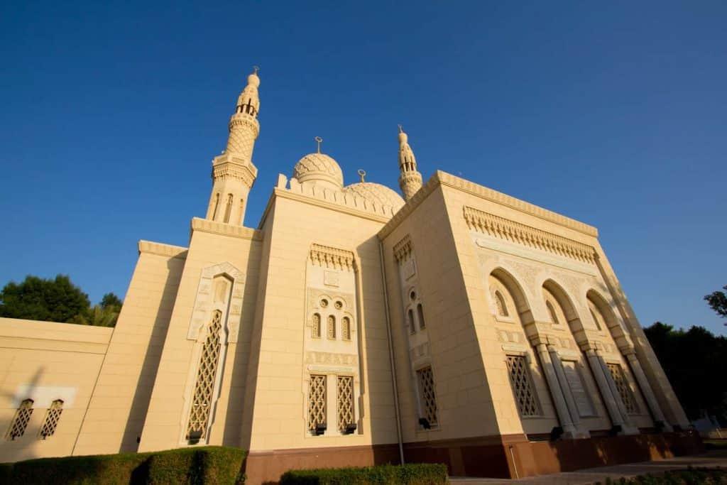 Sculpture of the Grand Jumeirah Mosque
