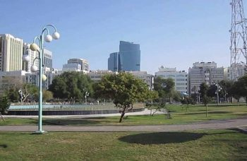 The Beautiful and Soothing Al Khalidiyah Park, Abu Dhabi