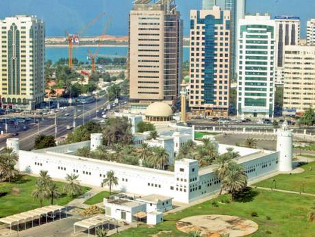 The majestic Qasr Al Hosn