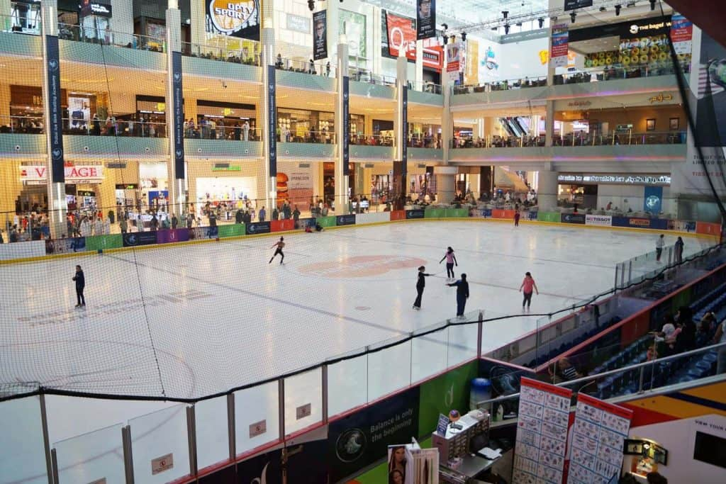 Dubai Ice Rink Games