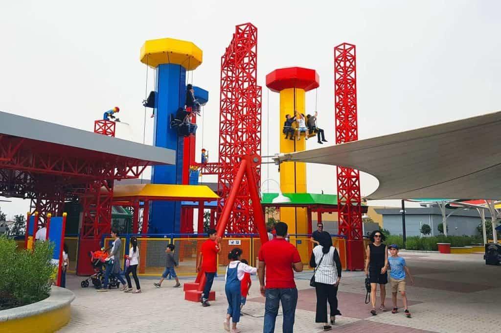 Family fun at Legoland, Dubai