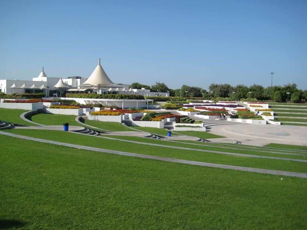 Al Mamzar Park Greenery